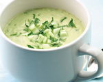 Cold and Creamy Cucumber Soup