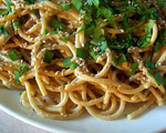 Cold n Spicy Sesame Noodles 