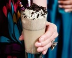 Chocolate Peanut Butter Cookies and Cream Shake