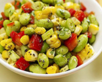 Corn and Edamame Salad