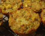 Corn and Zucchini Muffins