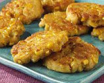 Skillet Fried Corn Cakes