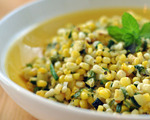 Corn, Zucchini and Chive Salad