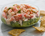 Crab and Avocado Dip  