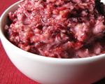Cranberry and Horseradish Relish