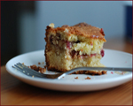Cranberry Apple Coffee Cake