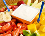 Lemon Tofu Fruit Dip 