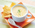Cream of Corn Cheese Soup