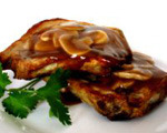 Cream of mushroom slow cooker pork chops
