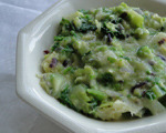 Creamed Savoy Cabbage