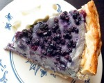 Creamy Blueberry Pie