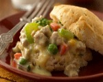Chicken and Creamed Vegetables