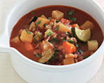 Crisp Bacon and Vegetable Soup