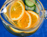 Cucumber and Orange Water
