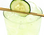 Cucumber, Basil and Lime Gimlet