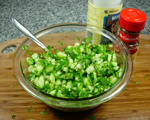Cucumber Relish with Basil