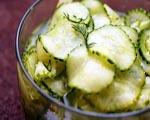 Cucumber Salad with Walnuts