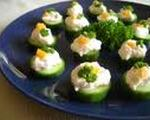 Light Cucumber Canapés
