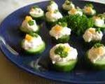 Light Cucumber Canapés