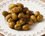 Cumin and Lemon-Scented Green Olives