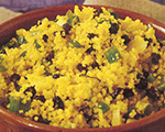Currants and Scallion Couscous