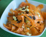 Curried Carrot, Raisin and Cashew Salad