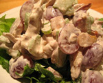Curried Chicken Salad with Grapes and Almonds