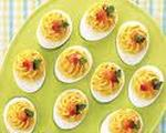 Deviled Eggs—Mexican Style