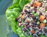 Dilled Adzuki Bean and Rice Salad