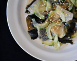 Dried Wakame, Cucumber, and Jicama Salad