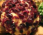 Dried Fruit Cheese Ball