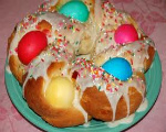 Easter Egg Twist Bread