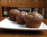 Easy Chocolate Zucchini Muffins