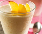 Easy Peach Milkshakes