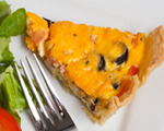 Eggland's Best Savory Greek Quiche