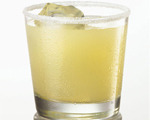 Elegant Salty Dog Cocktail 