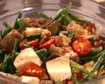 End of Summer Farmer's Market Salad