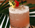 Exotic Fruit Punch Cocktail