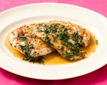Fennel and Dill Chicken Cutlets