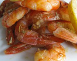 Fiery Shrimp with Lemon