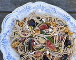 Fig and Walnut Spaghetti