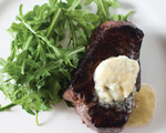 Filet Mignon with Blue Cheese Butter