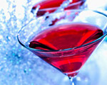 Fireside Cosmo Wine Cocktail