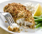 Low-Fat Crunchy Baked Fish