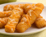 Cheesy Fish Sticks