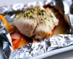 Fish and Vegetables in Foil