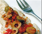 Fish with Olives and Salsa