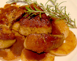 Seared Foie Gras with Apples