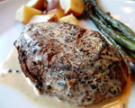 French Pepper Steak au Poivre
