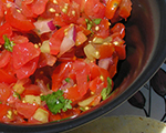 Fresh and Simple Mexican Salsa